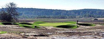 Budowa i przebudowa pól golfowych i stoków narciarskich - rekultywacja terenów zielonych, zagospodarowanie zieleni